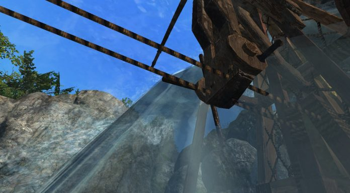 Schiff segelt in ArcheAge Wasserfall rauf Screenshot #13