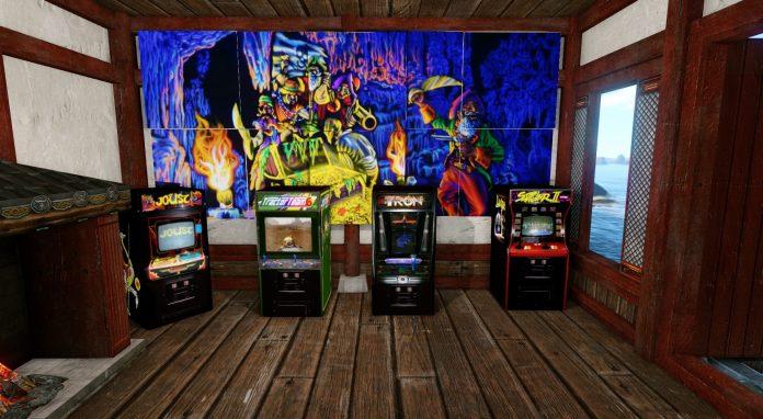 Spieler baut sich Spielhalle im Sandbox MMORPG ArcheAge