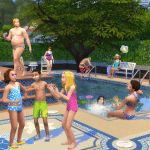 Die Sims 4 Pool-Erweiterung Screenshot #5