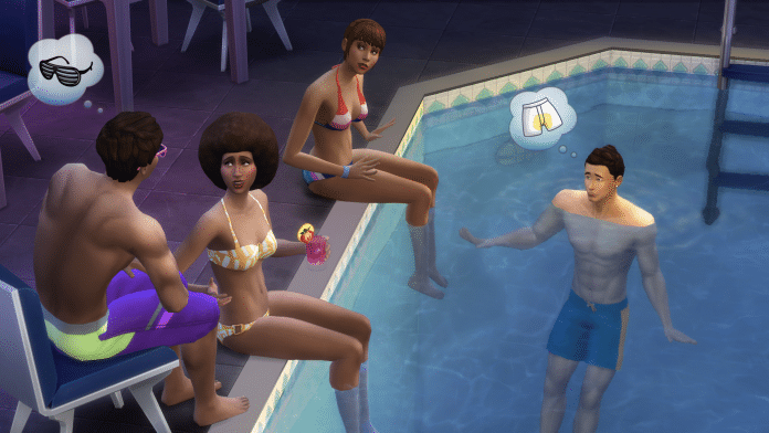 Die Sims 4 Pool-Erweiterung Screenshot #6