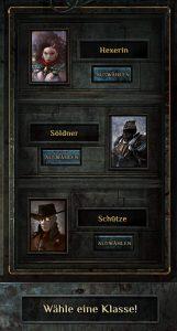 Deathtrap Charaktererstellung