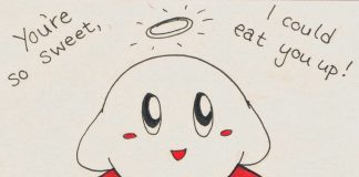 Valentinstag Nerd Kirby