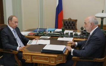 Viktor Vekselberg und Putin