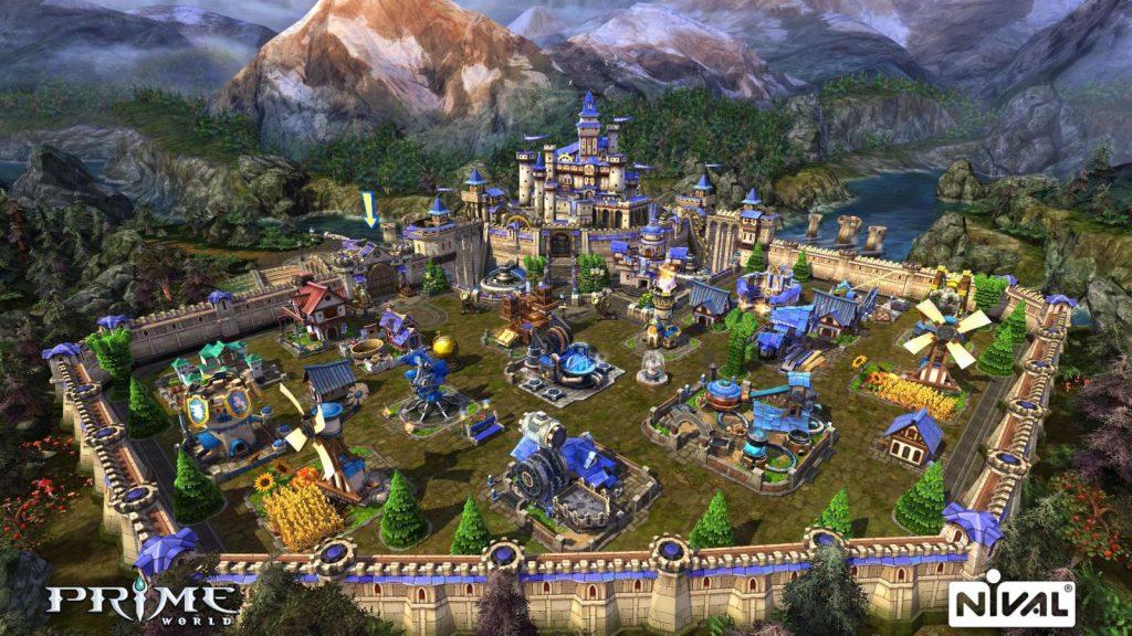 Prime World Schloss Screenshot