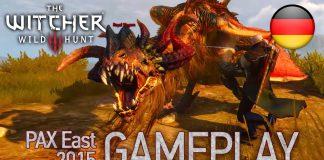 Witcher 3 Wild Hunt Gameplay von der PAX East 2015