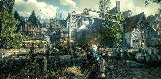 The Witcher 3 Stadt InGame Grafik