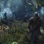 The Witcher 3 im Wald gegen Monster