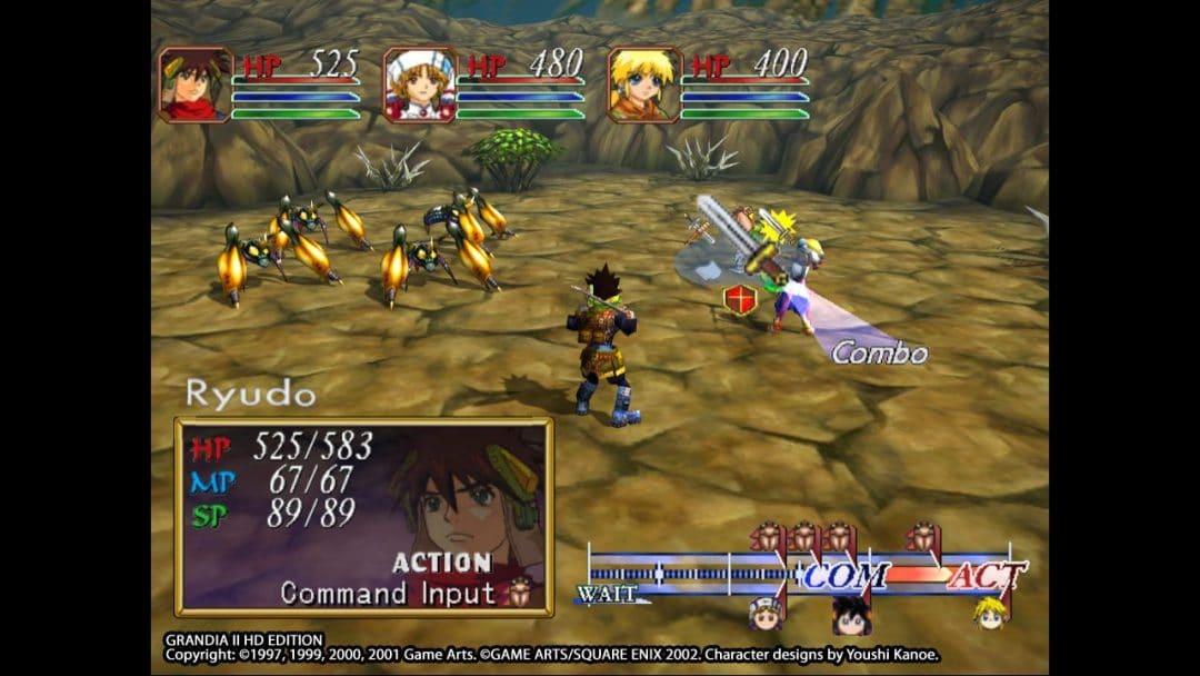 Grandia II Anniversary Remastered Edition