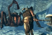elder scrolls spider screenshot