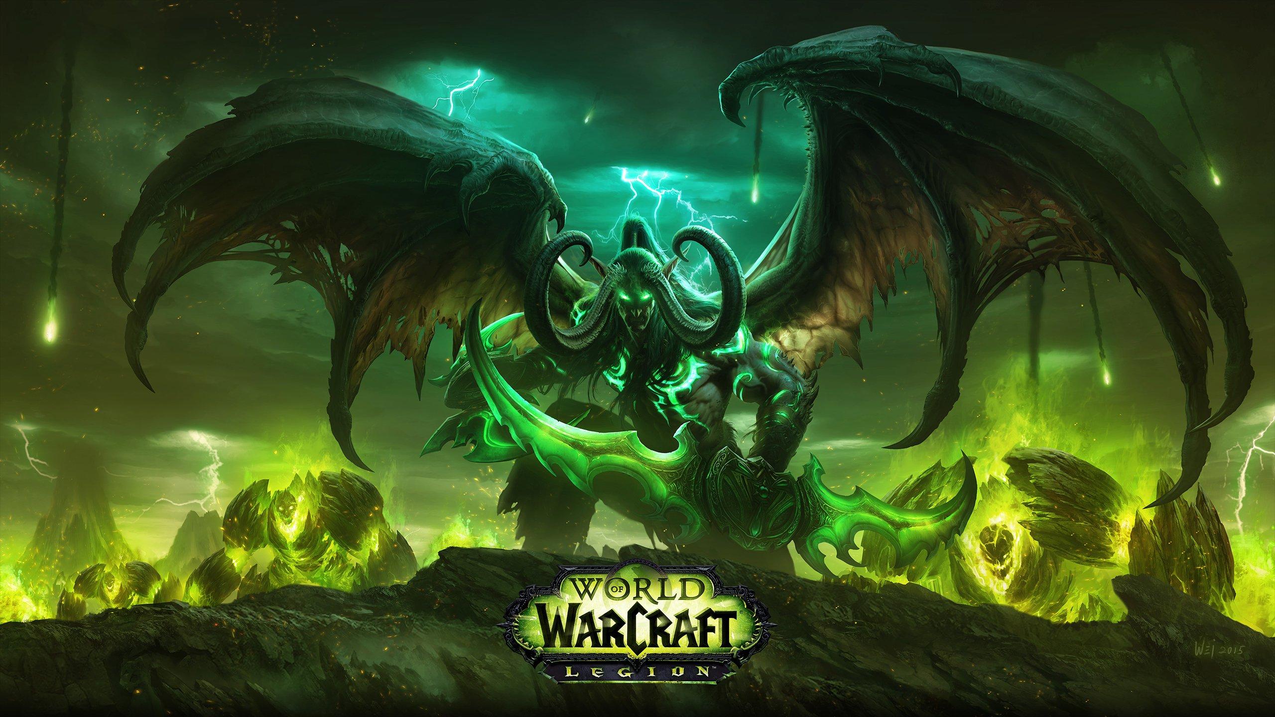 world of warcraft legion wallpaper