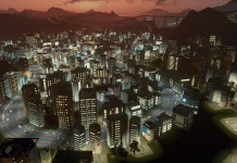 Cities Skylines After Dark Screenshot