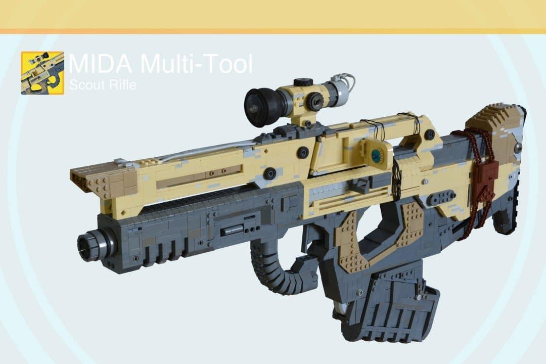 MIDA Scout-Gewehr aus LEGO #2