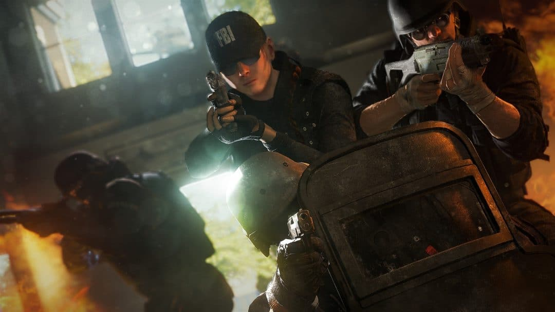 Rainbow Six Siege Cinematic Screenshot