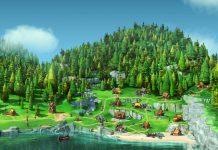 Wickie Online Screenshot der Spielwelt