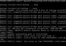 Linux Konsole Fehler
