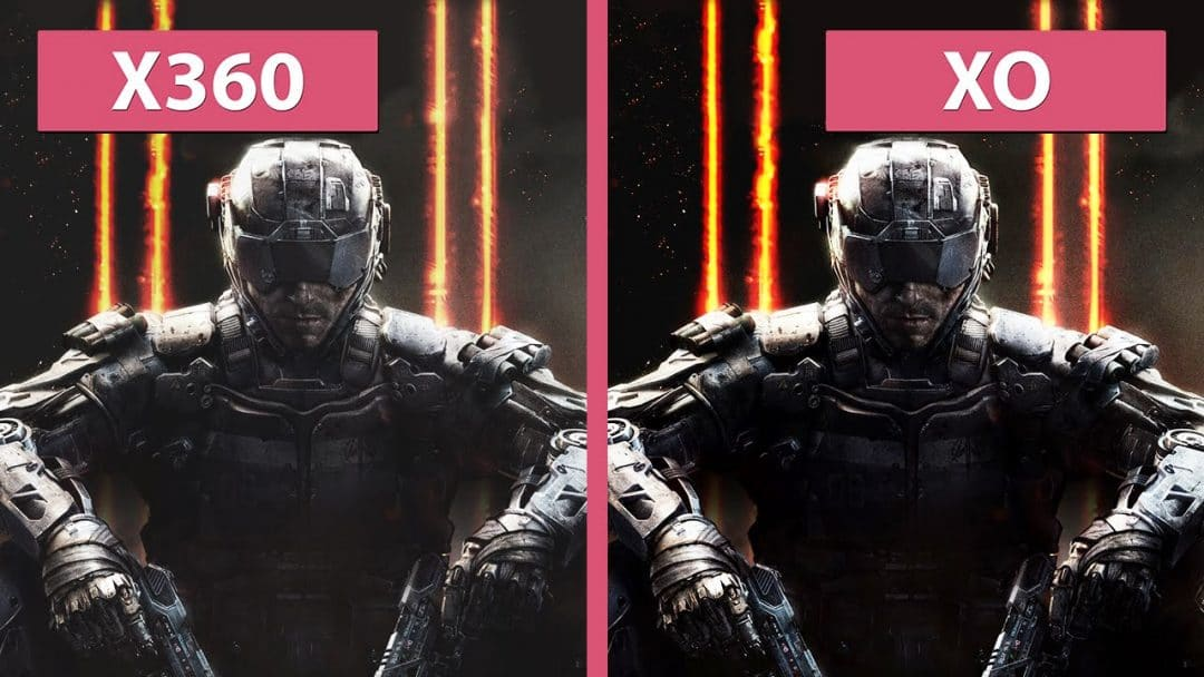 Call of Duty: Black Ops 3 - Xbox 360 vs. Xbox One