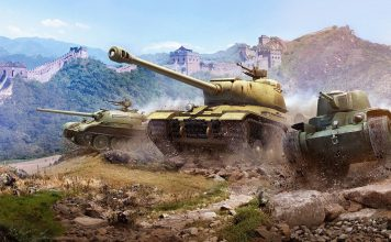 World of Tanks Artwork Chinesischer Panzer