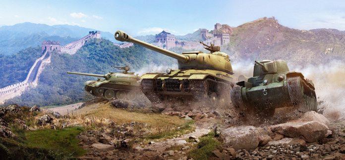 World of Tanks Artwork Chinesischer Panzer