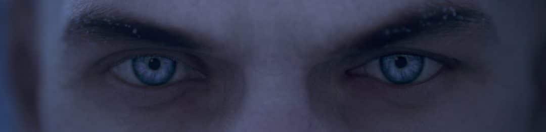 HITMAN Agent 47 Stahlblaue Augen