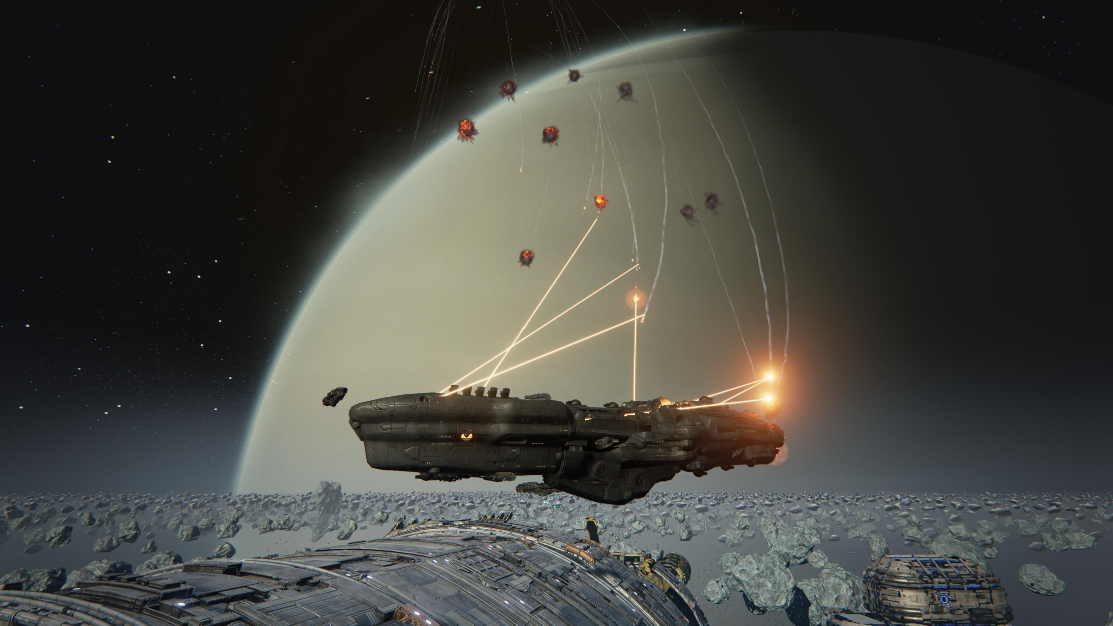 Raketenabwehrsystem in Dreadnought