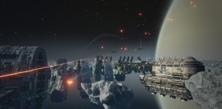 Weltraumumgebung in Dreadnought
