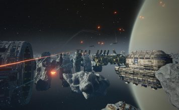 Weltraumumgebung in Dreadnought