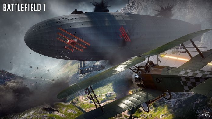 Battlefield 1 Behemoth Airship