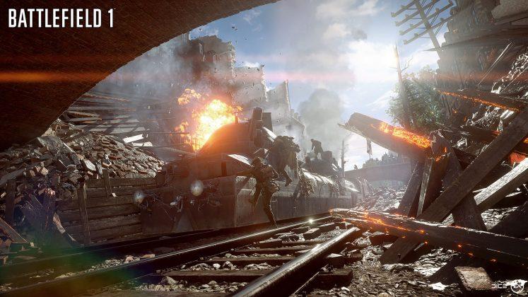 Battlefield 1 Behemoth Train