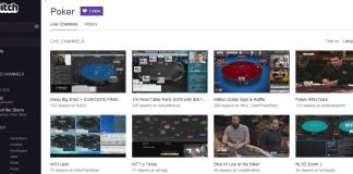 Poker auf Twitch