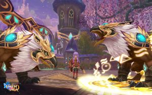 Twin Saga Monster Screenshot