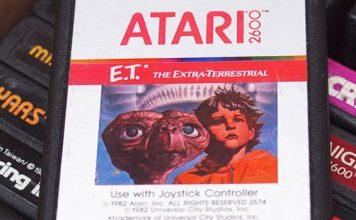 E.T. Mythos: Vergraben in der Wüste