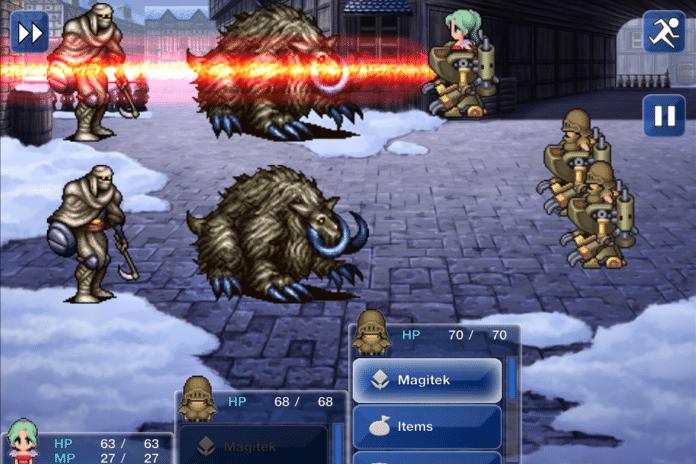 Final Fantasy VI Mythos: Czar Dragon