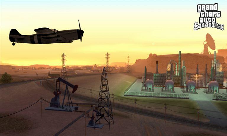 GTA: San Andreas Mythos: UFOs