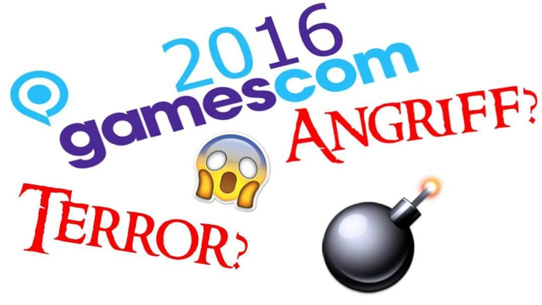 gamescom 2016 - terror angriff
