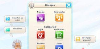 BBG Entertainment veröffentlicht Einstein Gehirntrainer für Apple iPhone