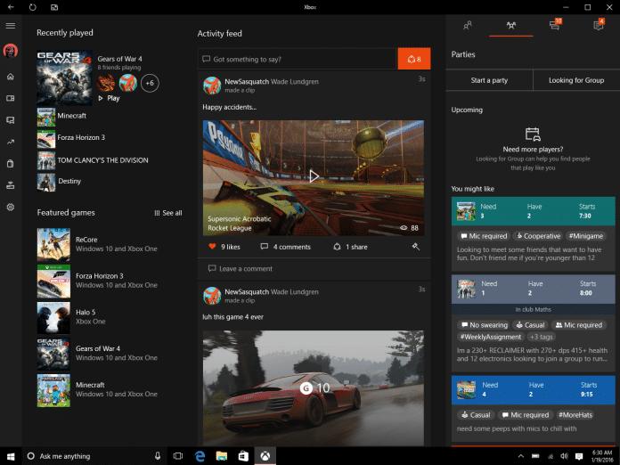 Holiday Update für Xbox One und Xbox App ab sofort verfügbar