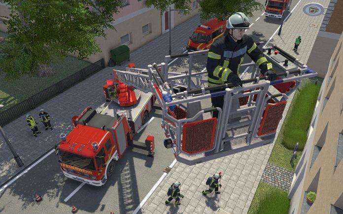 Notruf 112 – Die Feuerwehr Simulation rückt aus