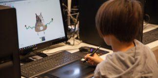 """Begeisterter Programmiernachwuchs bei den """"SAE Coding Kids"""" am SAE Institute"""