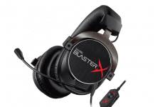 Sound BlasterX H5 Gaming Headset in der Tournament Edition