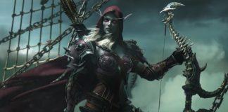World of Warcraft Legion - Sylvanas Cinematic Shot
