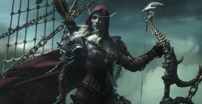 World of Warcraft Legion - Sylvanas Cinematic Shot
