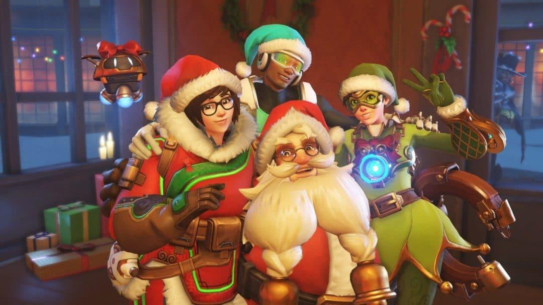 Overwatch Weihnachts-Aktion