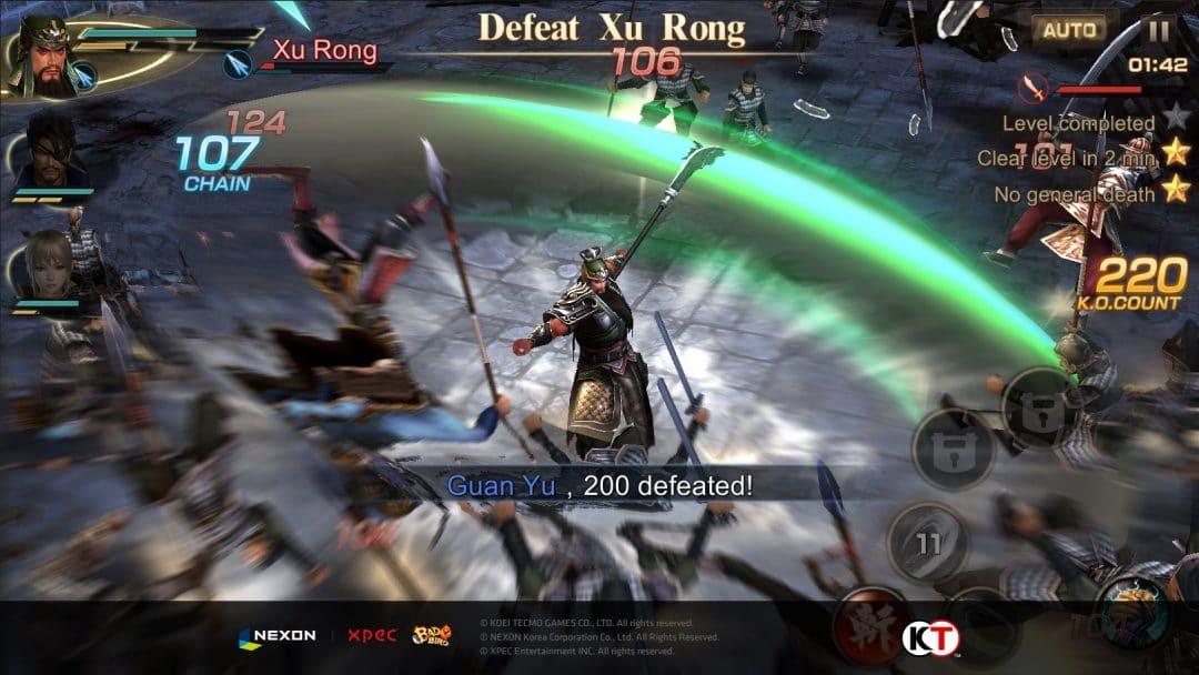 Dynasty Warriors Unleashed – Limited Beta für Android gestartet