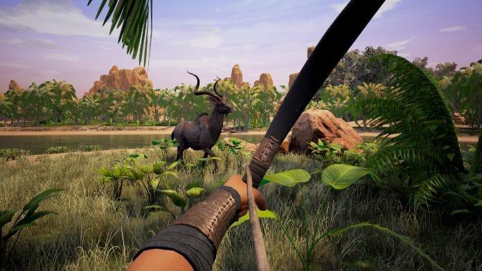 Conan Exiles: Bei der Jagd mit Bogen